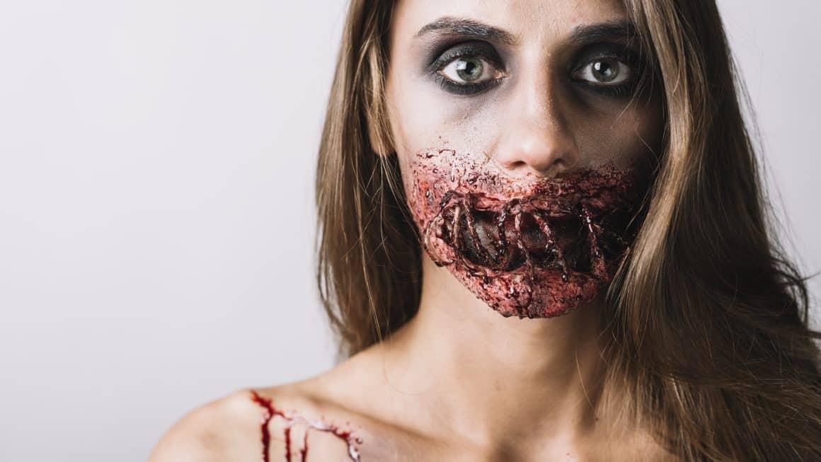 Una caracterización de miedo para una noche terrorífica