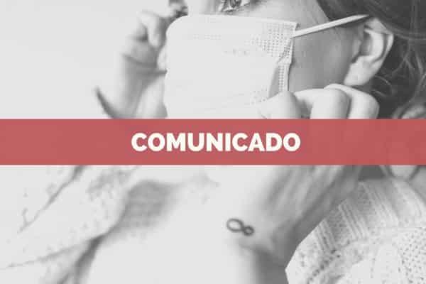Comunicado: Peluquería durante el estado de alarma en España por COVID-19