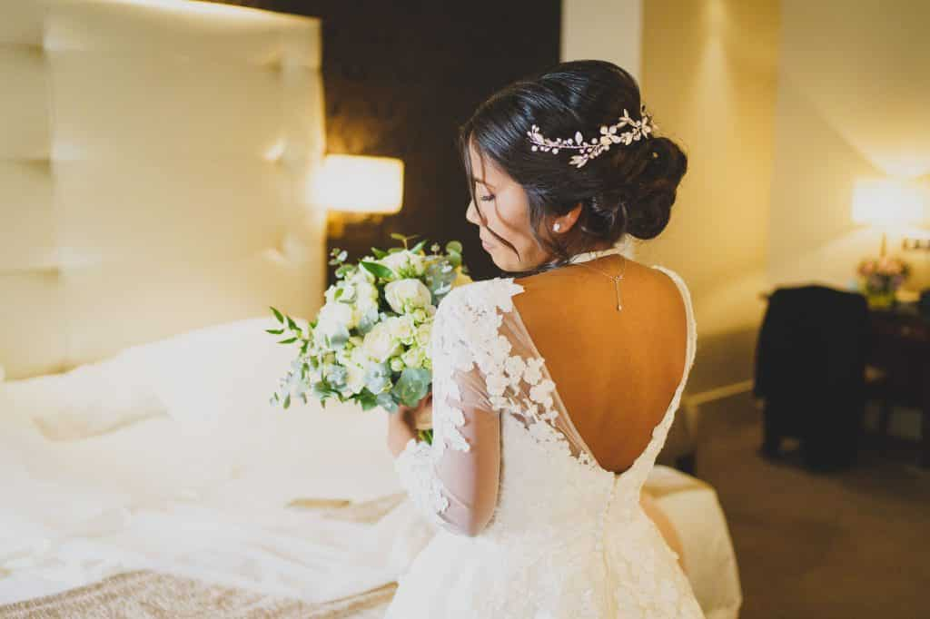 recogido de novia a domicilio